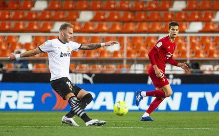 1-1: Empate insuficiente en Mestalla para ambos