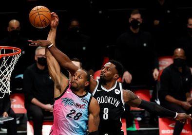 128-124. Durant y los Nets ganan con sus estrellas juntas
