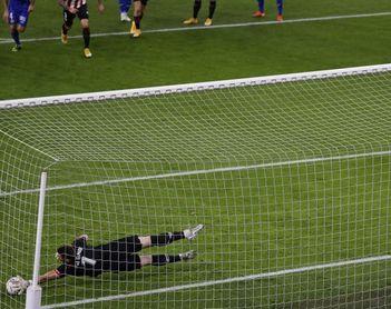 5-1. El Athletic golea y da la primera victoria liguera a Marcelino