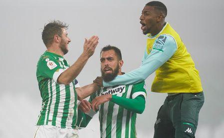 """'Mamba Mentality' y el calor de su 'Pandilla', el refugio de Borja en """"momentos muy duros"""" en el Betis"""