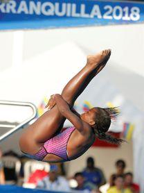 La campeona cubana de salto Anisley García, a copa mundial por cupo olímpico