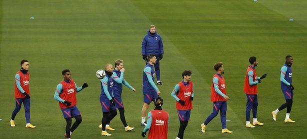 El Barça regresa a los entrenamientos para encarar el duelo ante el Athletic
