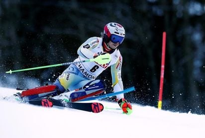 Kristoffersen gana el eslalon de Chamonix