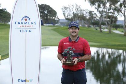El estadounidense Patrick Reed gana el Farmers Insurance Open, su primer título del año
