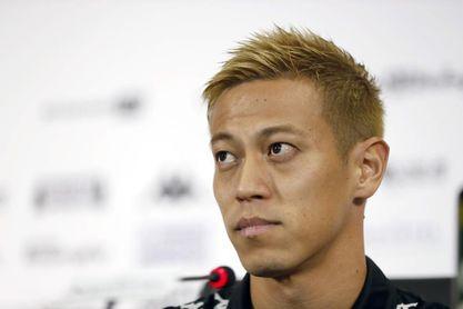 El japonés Honda, lesionado, se queda sin equipo tras sonar para Portimonense