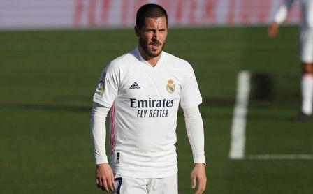 Hazard sufre una nueva lesión muscular.