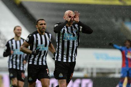 Una imagen de un partido del Newcastle.