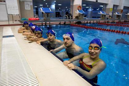 Una piscina de Estambul, cuna del equipo paralímpico de natación turco
