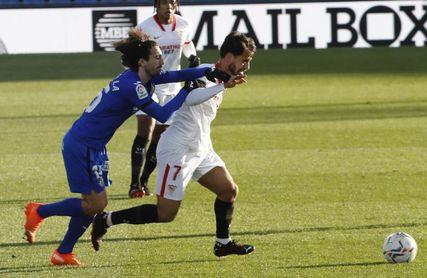 El Sevilla ha ganado en diez de las diecisiete visitas del Getafe