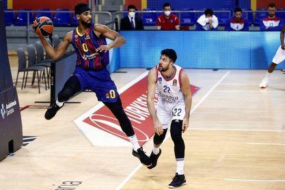 86-88: Larkin y Micic desmontan al Barça en el Palau