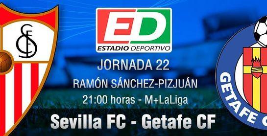 Sevilla FC-Getafe: La voracidad nervionense necesita tres puntos más.