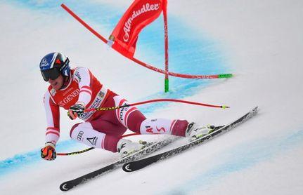 Kriechmayr encabeza el doblete austriaco en la última carrera antes del Mundial