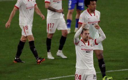 Varane cambia la dinámica; el Sevilla vuela