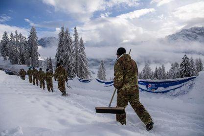 Aplazada la combinada femenina de Cortina d'Ampezzo por la intensa nevada