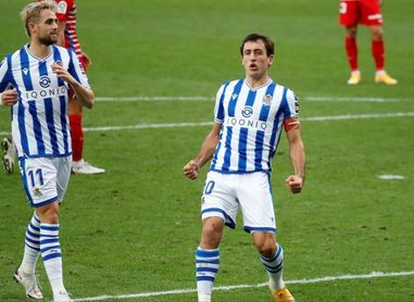 Oyarzabal, al rescate de la Real con 10 goles en 17 encuentros