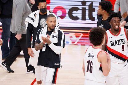 106-97. Lillard suma 36 puntos en nueva victoria de los Blazers sobre Orlando