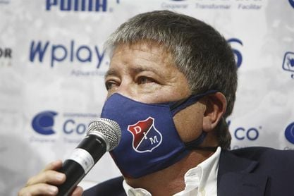 El 'Bolillo' Gómez sueña con darle al DIM el primer título del año en Colombia