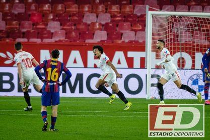 Sevilla FC 2-0 Barcelona: Un insaciable Sevilla FC que siempre quiere más