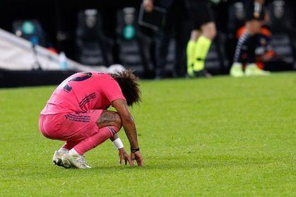 Marcelo amplía la mala racha de lesiones