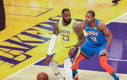 114-113. James lidera la sexta victoria seguida de los Lakers