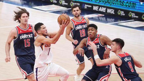 125-124. Booker, con 30 puntos, decisivo en el triunfo de los Suns