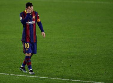 Sesión de recuperación para el Barcelona tras la derrota copera en Sevilla