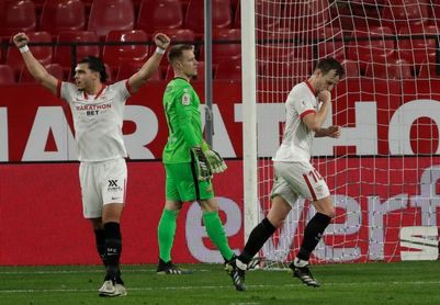 El Sevilla pasó ronda 11 de 15 veces que defendió un 2-0 en Copa