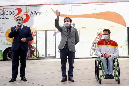 """Almeida: """"Los deportistas paralímpicos son un ejemplo para la sociedad"""""""