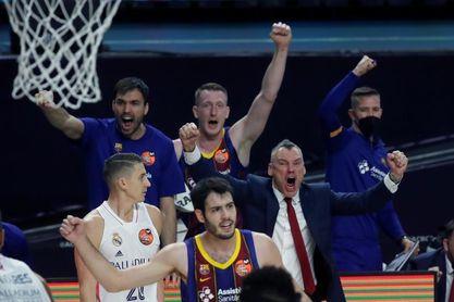 """Jasikevicius: """"El club pasa momentos difíciles y es una alegría para todos"""""""