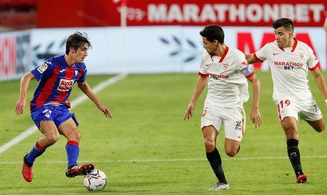 Bryan Gil tiene una taquilla reservada en el Sevilla FC 21/22.