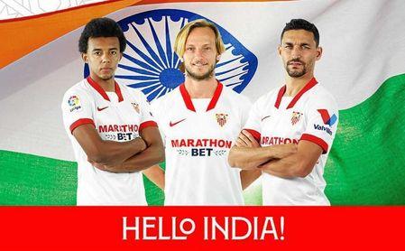 El Sevilla FC-Bengaluru United da un nuevo paso