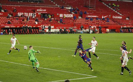 El Sevilla doblegó al Barça en Nervión recientemente, en la Copa.