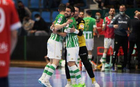 El Betis Futsal araña un valioso punto ante Osasuna Magna (2-2)