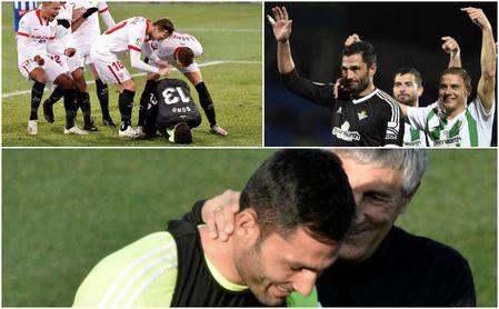 El Sevilla se quedó a 28' de superar el récord de imbatibilidad en LaLiga... aún en poder del Betis de Setién