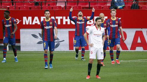 Lo que le falta al Sevilla F.C. en 'su Liga'.