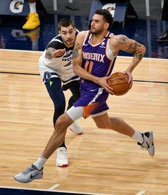 99-118. Booker y los Suns fueron demasiado para los desahuciados Timberwolves
