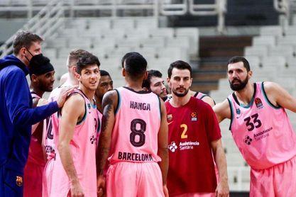 77-85. Mirotic y Higgins lideran al Barça en Atenas