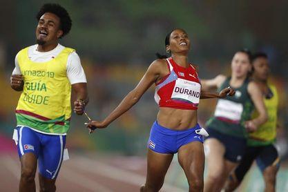 La velocista discapacitada cubana Omara Durand competirá en el Gran Premio de Túnez