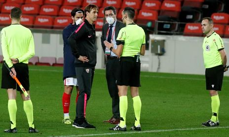 El Sevilla FC entendió que Sánchez Martínez favoreció al FC Barcelona.