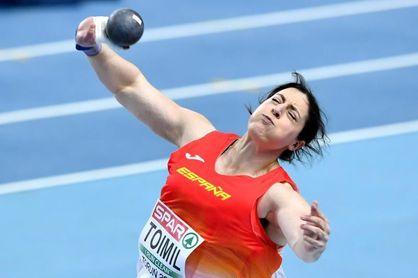 Belén Toimil revienta, 25 años después, el récord de España de peso con 18,64