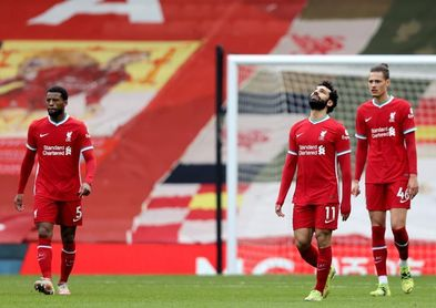 El Liverpool no levanta cabeza; sexta derrota seguida en casa