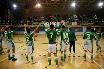 El Real Betis Futsal, el primer equipo del club verdiblanco en abrir sus puertas a la afición.