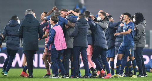 3-2. El Oporto hunde al Juventus con la épica
