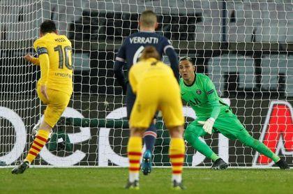 1-1 Navas arruina el sueño de remontada del Barcelona