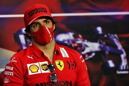 """Carlos Sainz: """"Todos queremos ver a Ferrari arriba pero hay que ser paciente"""""""
