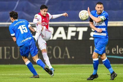 Tagliafico iguala a Cvitanich como el argentino con más goles en Países Bajos