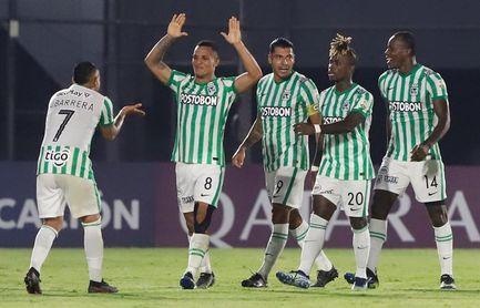 Un envalentonado Atlético Nacional recibirá a un alicaído y urgido Guaraní