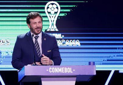 """El presidente de la Conmebol visita Uruguay con autorización """"excepcional"""""""