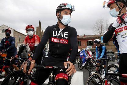 El colombiano Fernando Gaviria en el UAE de la Milán San Remo