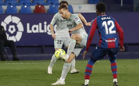 Real Betis-Levante: Hora, TV y dónde seguir online.